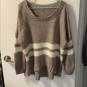 Charlotte Russe high low sweater